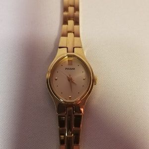 Pulsar Ladies Gold Watch